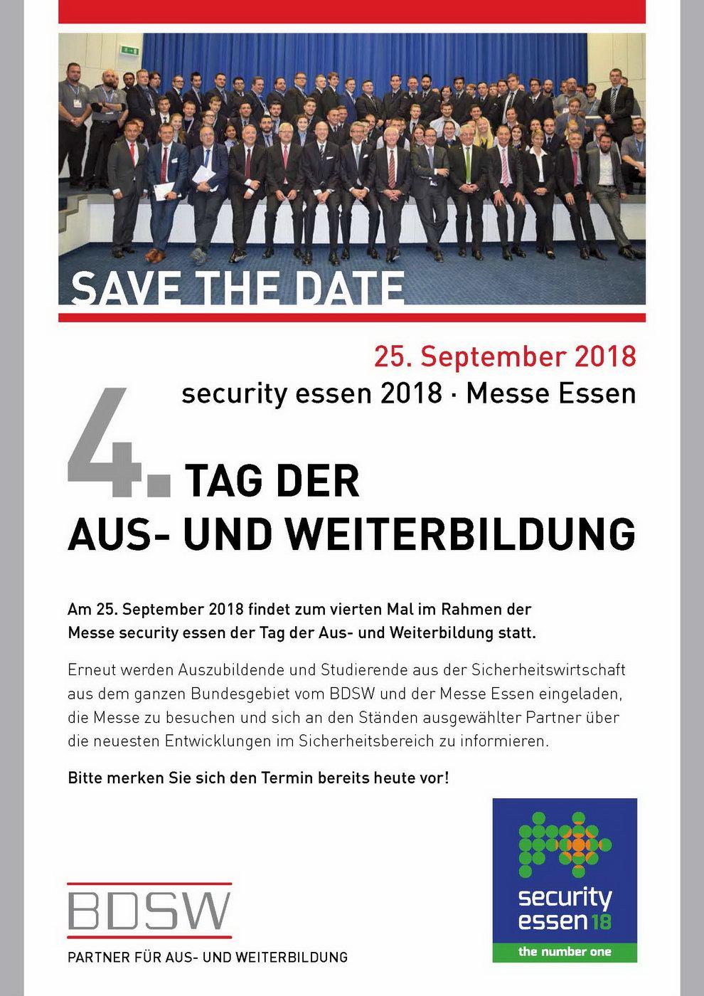 4. Tag der Aus- und Weiterbildung-BDSW.de